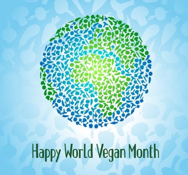 1st Nov World Vegan Day