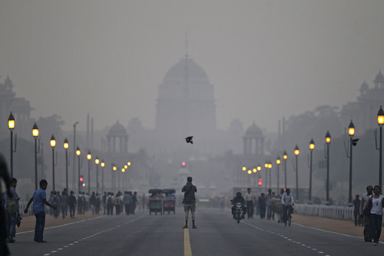 Delhi under the blanket of Air Pollution