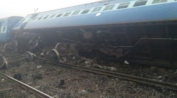 Patna bound Vasco Da Gama train derailed in the early hours of Friday