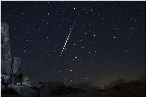 Behold for the Geminid Meteor Showers. You might not have seen anything like this before